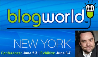 Rob @ BlogWorld Expo